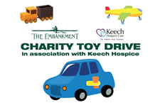 5th Avenue team up with The Embankment - Toy Drive for Keech Cottage