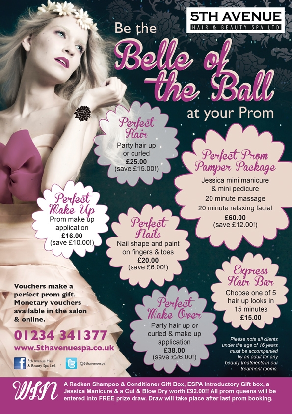 NEW Prom Packages