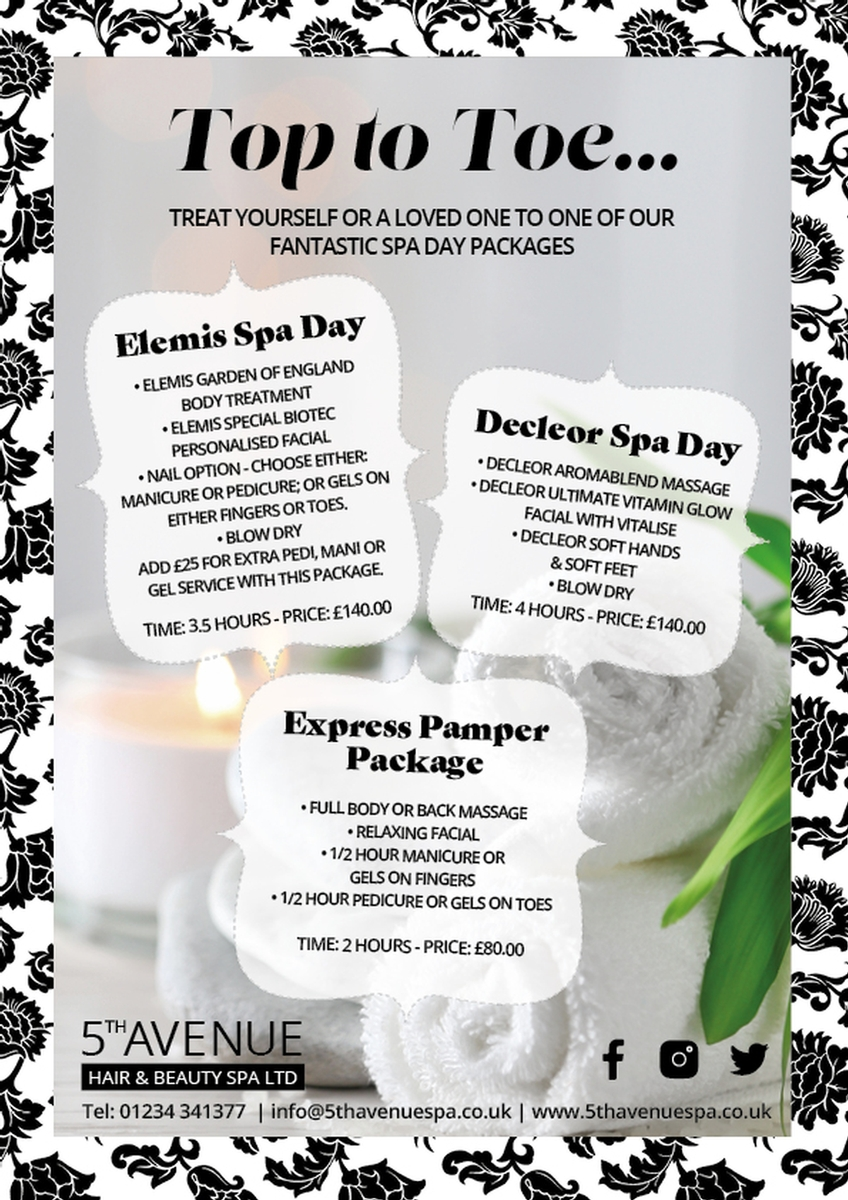 NEW Pamper Package