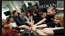 5th avenue at a Cut Athon with Redken