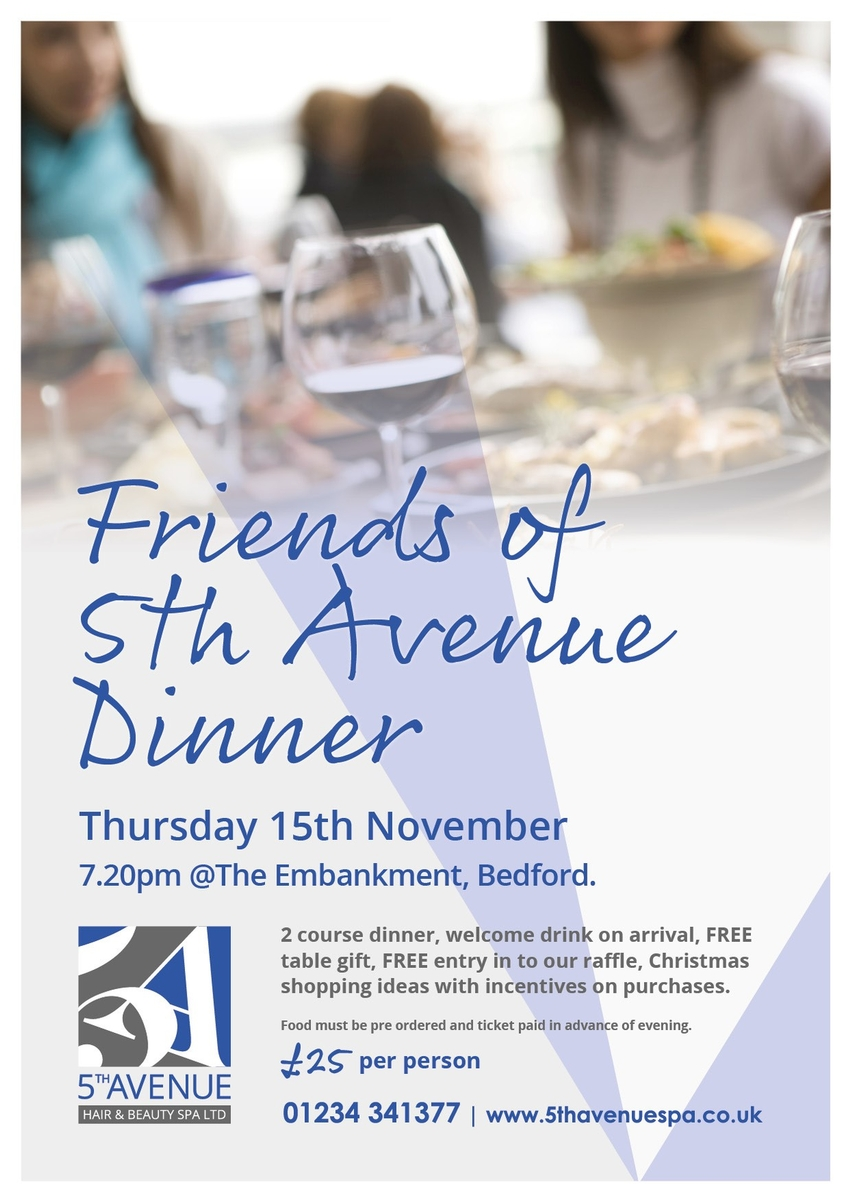 Friends of 5th Avenue Dinner