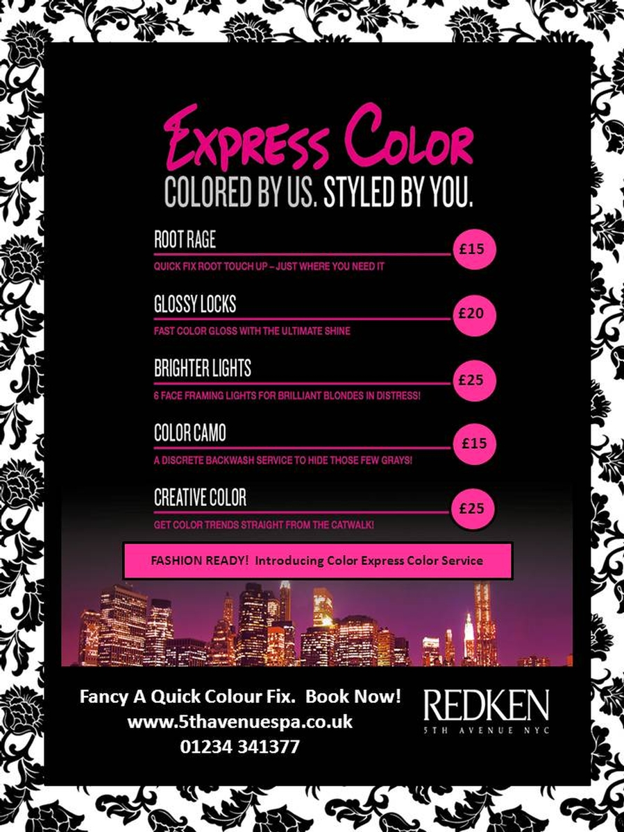 Redken Express Hair Color Services