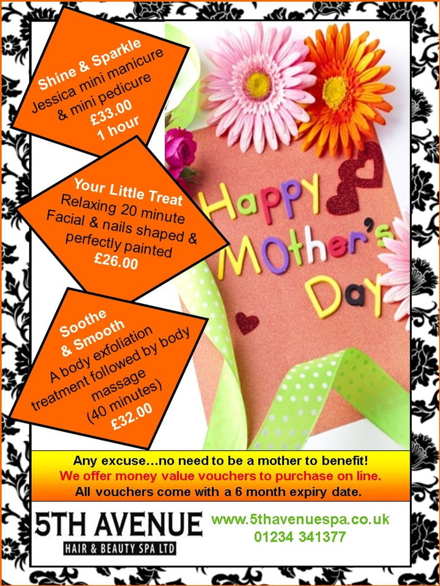 Mothers Day Pampering Treats