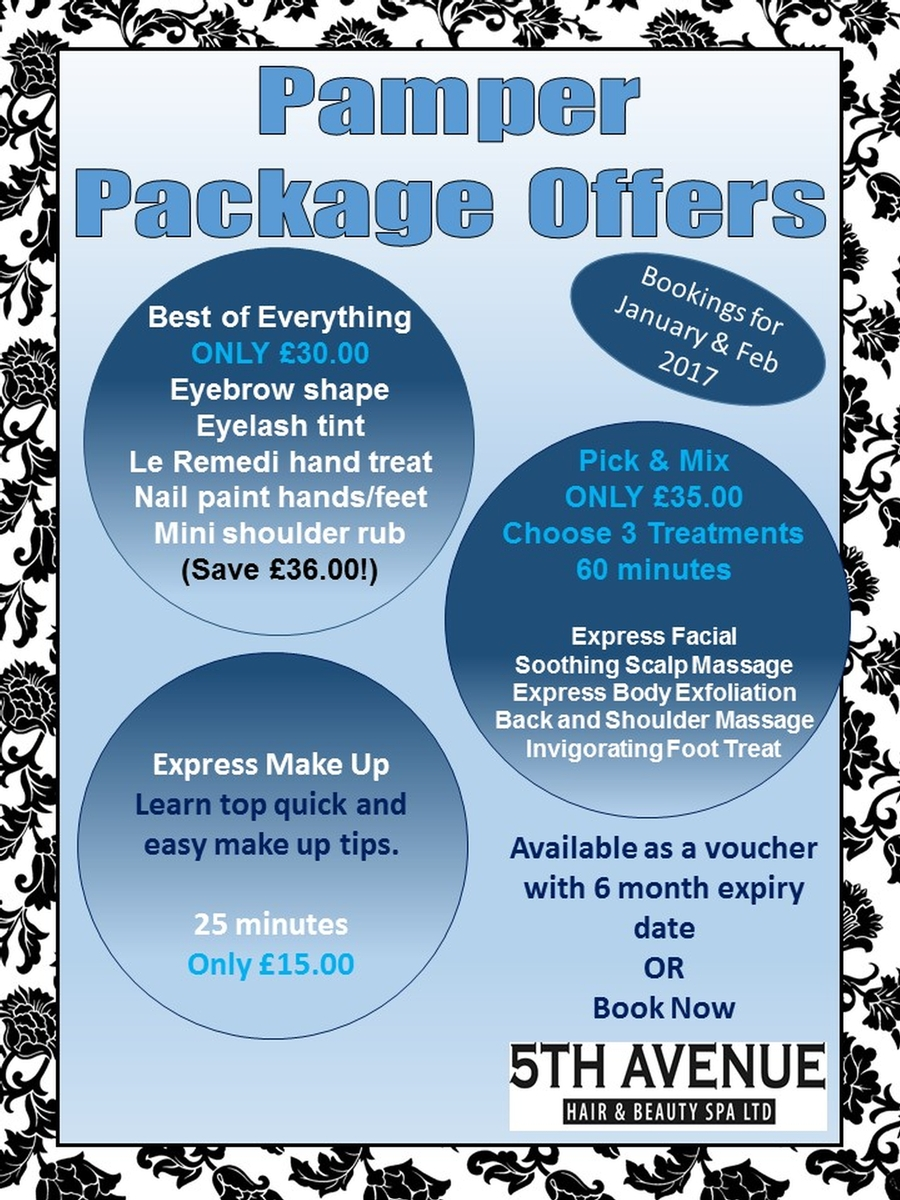 New Year New You Packages