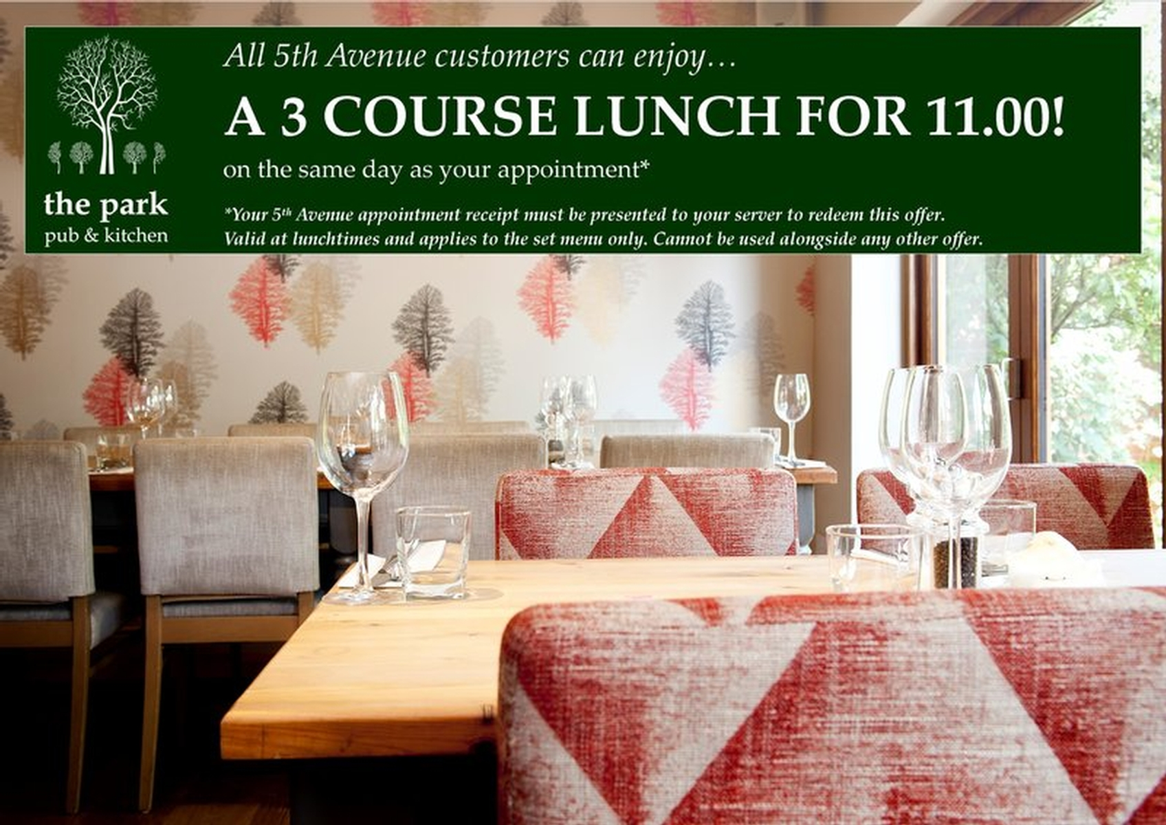 Local Dining Deal for 5th Avenue Clients