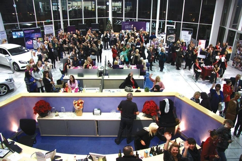 Christmas Shop Event - Mercedes Benz, Bedford
